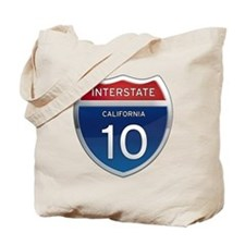 Interstate 10 - California Tote Bag