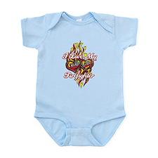 I Love My Firefighter Infant Bodysuit