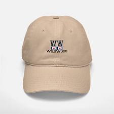 Wildwood NJ - Nautical Flags Design Baseball Baseball Cap