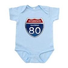 Interstate 80 - California Infant Bodysuit