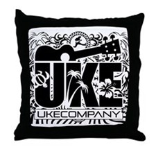 Uke Company HI Throw Pillow