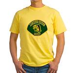 Lancaster Sheriff Station Yellow T-Shirt