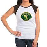 Lancaster Sheriff Station Women's Cap Sleeve T-Shi