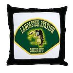 Lancaster Sheriff Station Throw Pillow