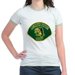 Lancaster Sheriff Station Jr. Ringer T-Shirt