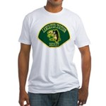 Lancaster Sheriff Station Fitted T-Shirt