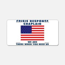Crisis Response For All Aluminum License Plate