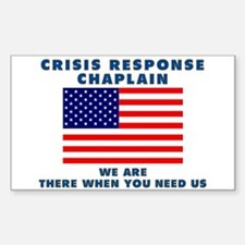 Crisis Response For All Sticker (Rectangle)