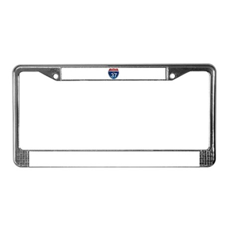 Interstate 37 - Texas License Plate Frame