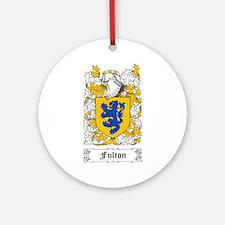 Fulton Ornament (Round)
