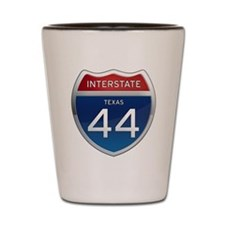 Interstate 44 - Texas Shot Glass