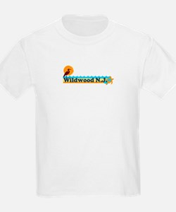 Wildwood NJ - Beach Design T-Shirt