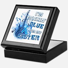 I'm Rockin' Blue for my Sister Keepsake Box