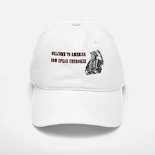 Welcome to America Baseball Baseball Cap