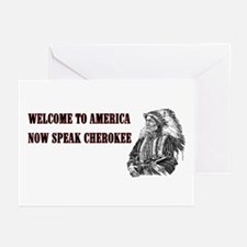 Welcome to America Greeting Cards (Pk of 10)