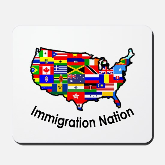 USA: Immigration Nation Mousepad