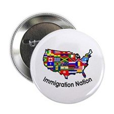 "USA: Immigration Nation 2.25"" Button (10 pack)"