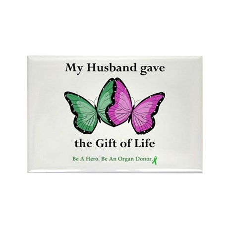 Husband Donor II Rectangle Magnet