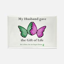 Husband Donor II Rectangle Magnet