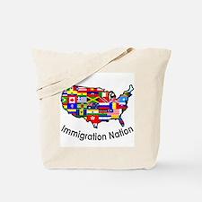 USA: Immigration Nation Tote Bag