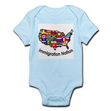 USA: Immigration Nation Infant Creeper
