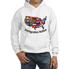 USA: Immigration Nation Jumper Hoody