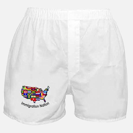 USA: Immigration Nation Boxer Shorts