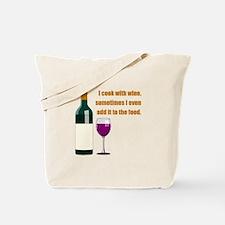 Wine Cook Tote Bag