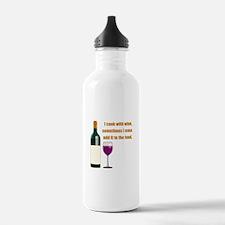 Wine Cook Water Bottle