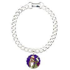 Sock Monkey Bass Player Bracelet