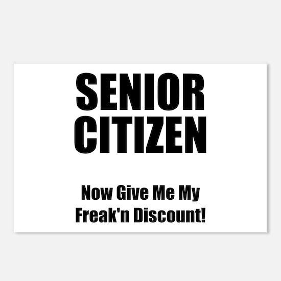 Senior Citizen Postcards (Package of 8)