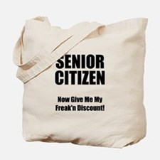 Senior Citizen Tote Bag