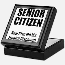 Senior Citizen Keepsake Box