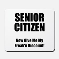 Senior Citizen Mousepad