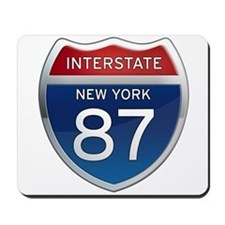 Interstate 87 - New York Mousepad