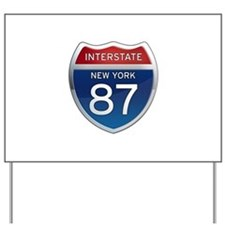 Interstate 87 - New York Yard Sign