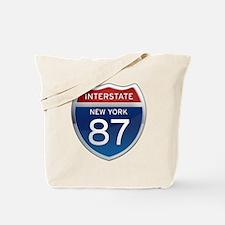 Interstate 87 - New York Tote Bag