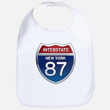 Interstate 87 - New York Bib