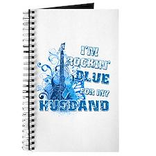 I'm Rockin' Blue for my Husband Journal