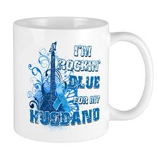 I'm Rockin' Blue for my Husband Mug