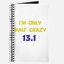 Half Crazy 13.1 Journal