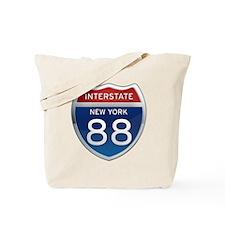 Interstate 88 - New York Tote Bag