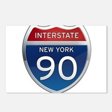 Interstate 90 - New York Postcards (Package of 8)