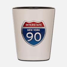 Interstate 90 - New York Shot Glass
