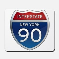 Interstate 90 - New York Mousepad