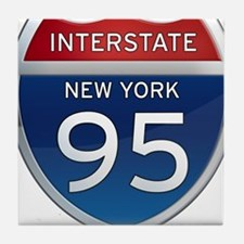 Interstate 95 - New York Tile Coaster