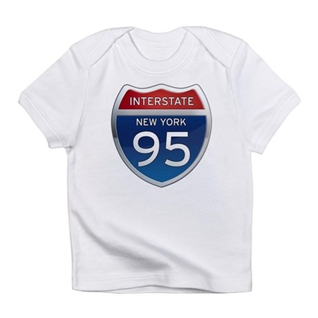 Interstate 95 - New York Infant T-Shirt