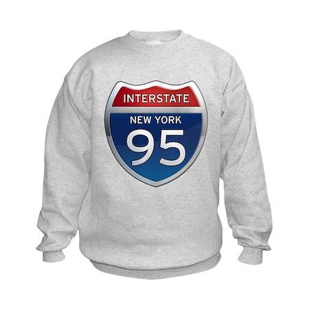 Interstate 95 - New York Kids Sweatshirt
