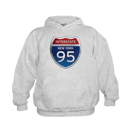 Interstate 95 - New York Kids Hoodie