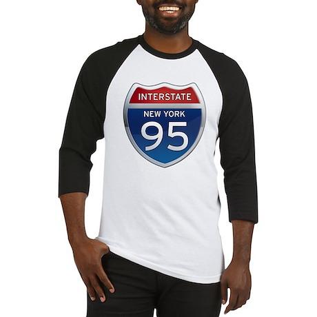 Interstate 95 - New York Baseball Jersey